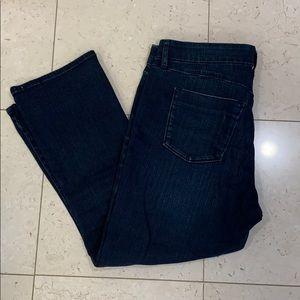 Gap 1969 cropped boot leg jeans
